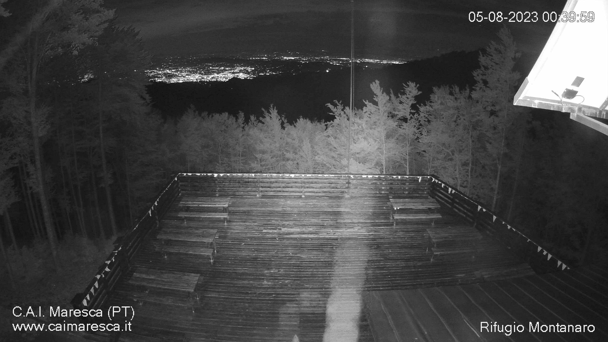 webcam rifugio montanaro maresca san marcello piteglio, provincia di Pistoia, Toscana