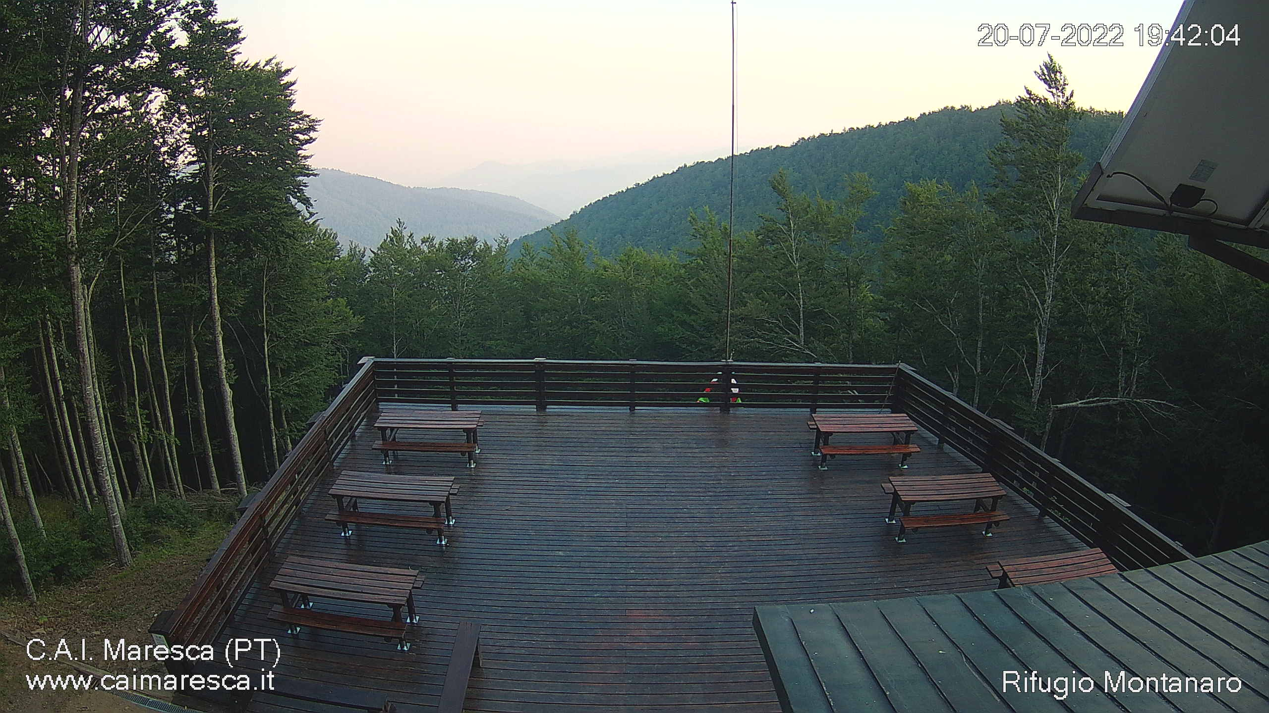 webcam rifugio montanaro maresca san marcello piteglio, webcam provincia di Pistoia, webcam Toscana